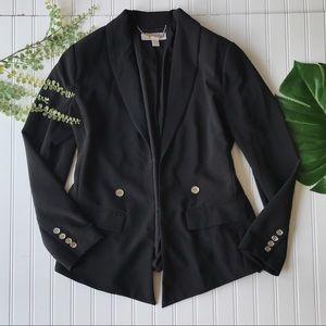 Michael Kors blazer black casual open front